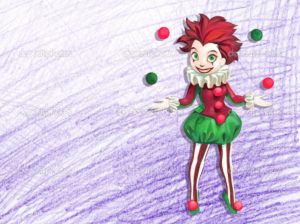 depositphotos_73834349-Illustration-of-juggling-clown-girl